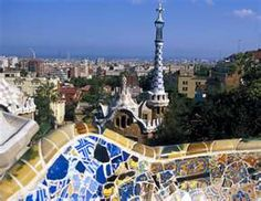 barcelona- parque guell by Gaudi. i want to go back to Spain! Oh The Places You'll Go, Places To Travel, Places To Visit, Barcelona Hotels, Barcelona Spain, Barcelona Tourist, Spain Madrid, Barcelona City, Gaudi