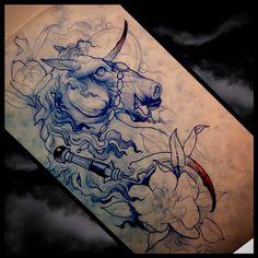Tattooby Dan Fletcher. ... - THIEVING GENIUS