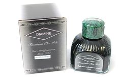 Diamine Ink for Fountain Pens - 80 ml Bottle - Delamere Green