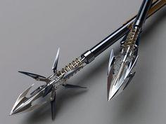 Archery trick arrows.