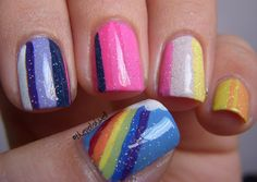 Colorful Stripes (inspired by my little pony) - so cute!!!