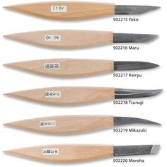 woodcarving knives | Buy Japanese Wood Carving Knives from Axminster, fast delivery for the ...