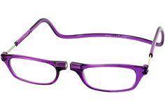 Clic  Reader Single Vision Half Frame    : Lavender : Red : Lavender