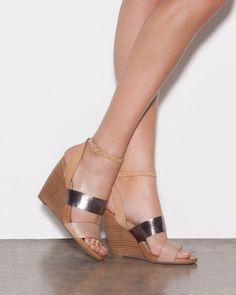 Wedges are so comfy!