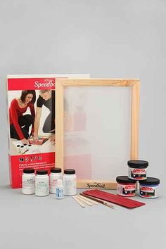 DIY Screen Print Kit Diy Screen Printing, Giving Day, Flowers Delivered, My New Room, Room Organization, Diy Kits, Party Games, Cleaning Wipes, Urban Outfitters