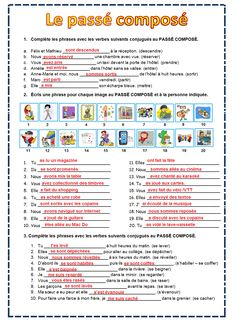 French Tenses, French Verbs, French Grammar, French Phrases, French Teaching Resources, Teaching French, French Language Lessons, French Lessons, Basic French Words