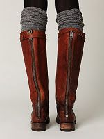 lengthen your boots with leg warmers! like the zippers