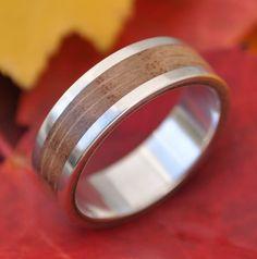 Lados Oak Wood Ring