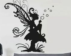 Fairy uBer Decals Wall Decal Vinyl Decor Art by uBerDecals