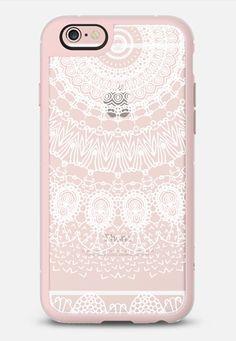 Boho White Lace by Monika Strigel New Standard | @casetify