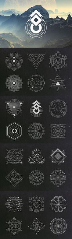 Sacred Geometry Vectors