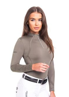 Limited Edition - Panelled Emboss Khaki Base Layer