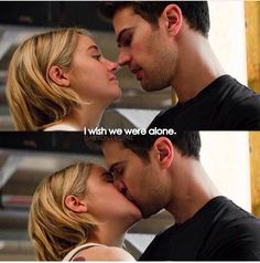 There was way more of this in Allegiant than in divergent and insurant Divergent Funny, Divergent Trilogy, Divergent Insurgent Allegiant, Divergent Fandom, Tris And Tobias, Tris And Four, Theo James, Tony Goldwyn, Software Online