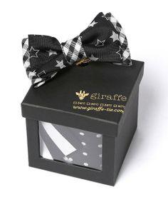 Giftbox(ギフトボックス)のgiraffeギフトボックスセット BLACK×BLACK(ネクタイ) ブラック