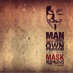 The Mask -Oscar Wilde