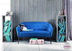 Featuring ULYSSES, a two-seater sofa by Stones. Its elegant and comfortable design makes a perfect fit for small apartments and compact spaces! Modern Sofa, Small Apartments, Love Seat, Perfect Fit, Couch, Bedroom, Elegant, Interior Ideas, Marathon