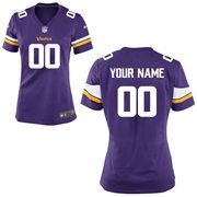 Nike Minnesota Vikings Women's Customized Team Color Game Jersey