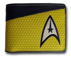 Star Trek Command Uniform Bi-Fold Wallet $18.99