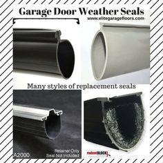 Wayne Dalton Garage Door Bottom Weather Seal Genuine Door Length for 18 Wide Doors