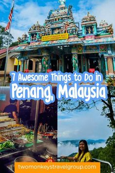 7 Awesome Things to Do in Penang, Malaysia by Michelle Caligan provides you with the must try, must see and must do list if visiting Penang, Malaysia.