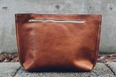 hustle & hide // the oversized abey clutch