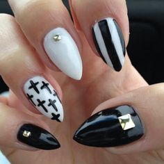 Stripes and crosses