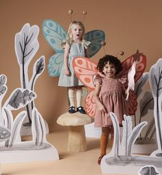 """Merrilee Liddiard on Instagram: """"Fairy wings and enchanted fairy lands forever! You can never go wrong with a pair of fairy cardboard wings. They are easy to make and bring…"""" Fairy Wings, Fairy Land, Hallows Eve, Enchanted, Disney Characters, Fictional Characters, Dolls, Photo And Video, Disney Princess"""