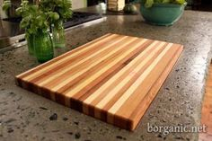 b. organic - Cutting Board out of scrap lumber