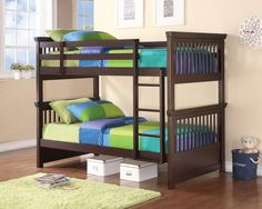 Product: BUNK BED Item:460266 TRANSITIONAL