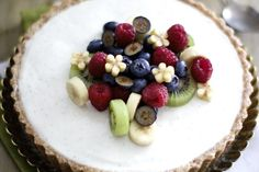 Yogurt Cardamom Tart recipe on Food52