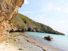 cas abou Curacao stranden
