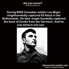 Canadian soldier with a Natural Ability to Improvise, Adapt and Survive. Canadian soldier with a Natural Ability to Improvise, Adapt and Survive. I Am Canadian, Canadian History, American History, Canadian Soldiers, Wtf Fun Facts, Awesome Facts, Interesting Facts, Awesome Stuff, Heroes