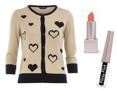 Dorothy Perkins cute cardigan with peachy lips and pretty eyes