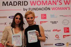Elena Furiase y Soraya, dos artistas con mucho corazón de Madrid Woman's Week. ¡Felicidades, guapas!