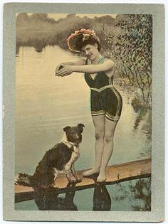 Bathing Beauty by PaperScraps, via Flickr