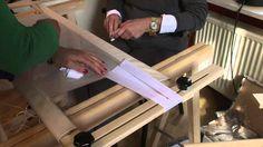 Borduurframe opspannen Deel 3 | Mounting the frame Part 3  #broderiedart #video…
