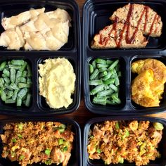 With a little prep, you can have a roasted chicken dinner, a meatloaf dinner, or a teriyaki stir fry dinner whenever you want thanks to these freezer meals! Microwave Freezer Meals, Homemade Microwave Meals, Individual Freezer Meals, Freeze Ahead Meals, Freezable Meals, Freezer Friendly Meals, Healthy Freezer Meals, Freezer Cooking, Healthy Foods To Eat