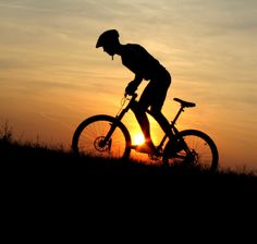 Mountain bike training... or training for the hills of Iowa! This year's route may be short, but it won't be flat.