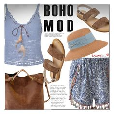 """Boho"" by ladybug-100 ❤ liked on Polyvore featuring sammydress"