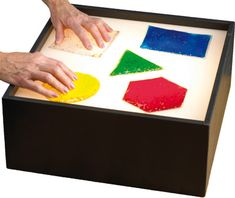 Light Box for Sensory Stimulation | e-Special Needs | $183.95   |||  Gel Shapes | e-Special Needs | $29.95/shape OR $49.95/set of 5