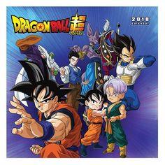 Dragon Ball Super 2018 Calendar