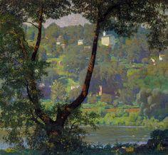 Daniel Garber (American, 1880-1958) Tohickon1920