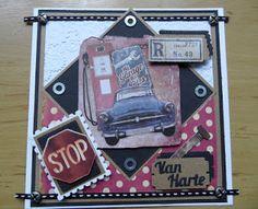 Chantals Crea Blog: Mannenkaart
