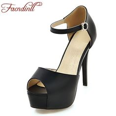 Plus size 43 new 2018 summer gladiator women sandals fashion platform shoes extreme high heels black white wedding shoes woman. Yesterday's price: US $52.00 (42.24 EUR). Today's price: US $28.08 (22.88 EUR). Discount: 46%. #platformhighheelswhite #blackhighheelswithdressblackhighheelsclassic #sandalssummer #highheelsextreme #weddingshoes