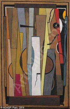 CSAKY Joseph - Composition cubiste