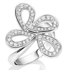 Image result for Mont Blanc Princess Grace de Monaco rose petales ring