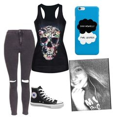 """""""hacked by Jessy rtd"""" by grace-way ❤ liked on Polyvore featuring Topshop and Victoria's Secret"""
