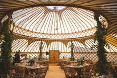 A Handmade and Rustic Style Yurt Wedding on the Family Farm | Love My Dress® UK Wedding Blog