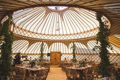 A Handmade and Rustic Style Yurt Wedding on the Family Farm | Love My Dress® UK Wedding Blog