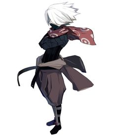 View an image titled 'Ninja Art' in our Disgaea A Promise Unforgotten art gallery featuring official character designs, concept art, and promo pictures. Character Design Animation, Fantasy Character Design, Character Design References, Character Creation, Character Design Inspiration, Character Concept, Character Art, Concept Art, Art Ninja